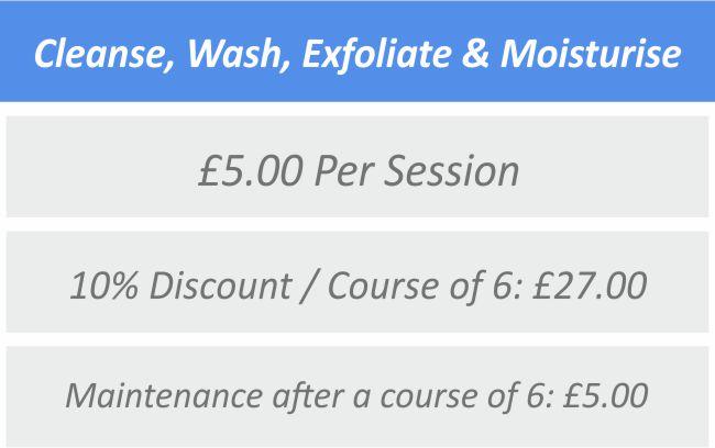 Cleanse, Wash, Exfoliate & Moisturise